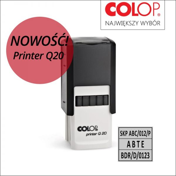 pieczątka printer q20
