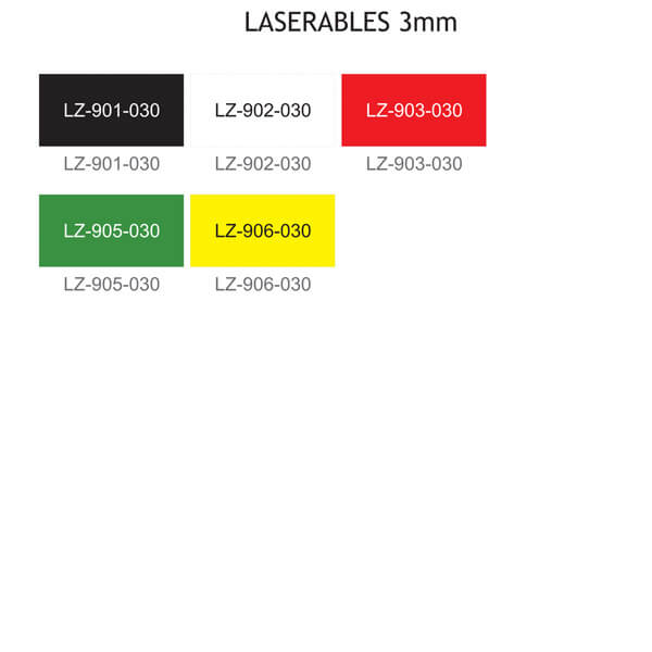 Laminaty LASERABLES 3 mm