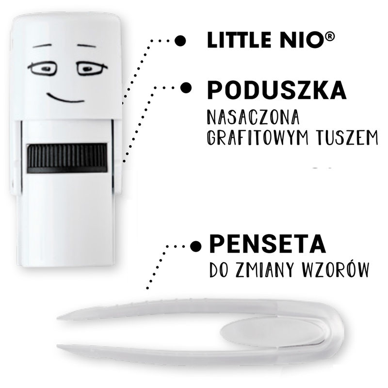 Pieczątka Little Nio Craft