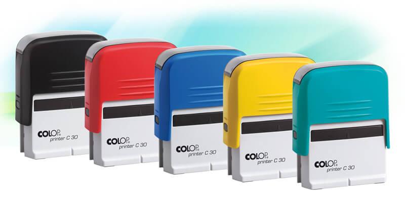 Pieczątki Printer Compact i Kolory Świata