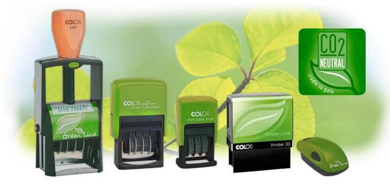 Pieczątki ekologiczne Green Line