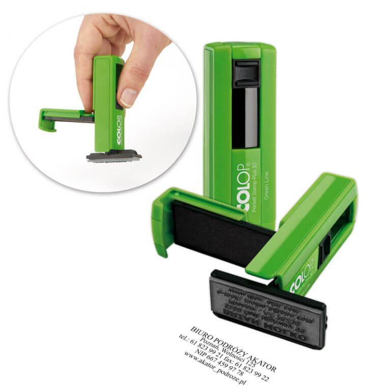 Pocket Plus 30 Green Line