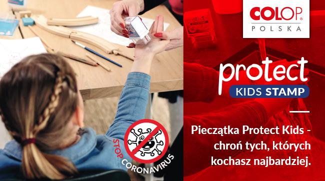 Pieczątka Protect Kids - chroń tych, których kochasz najbardziej!